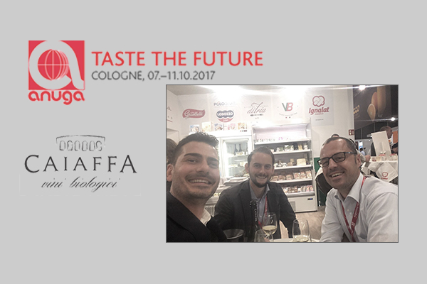 Image of Caiaffa Vini and Grape Agents at Anuga 2017